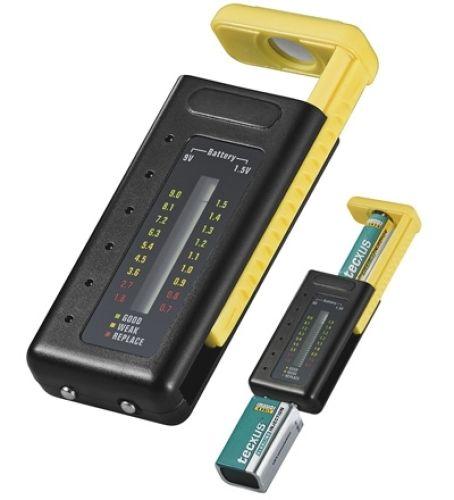 Batterietester mit LCD Anzeige