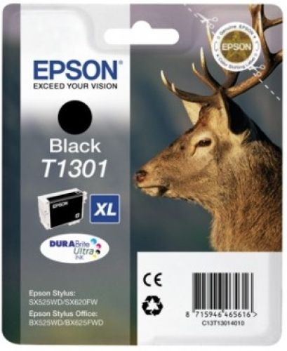 Tintenpatrone Epson T130140, schwarz, EO-TP1301