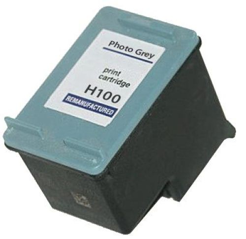 Druckerpatrone Typ 100, grey, 19ml, H100rw