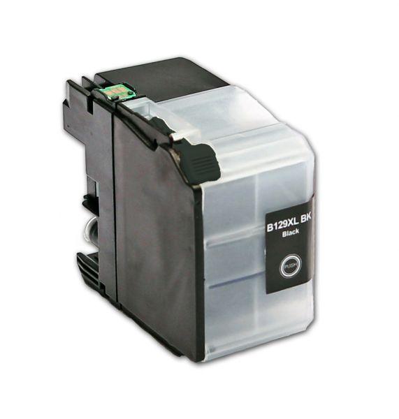 Druckerpatrone black mit Chip für Brother, Typ BK129BK-Chip