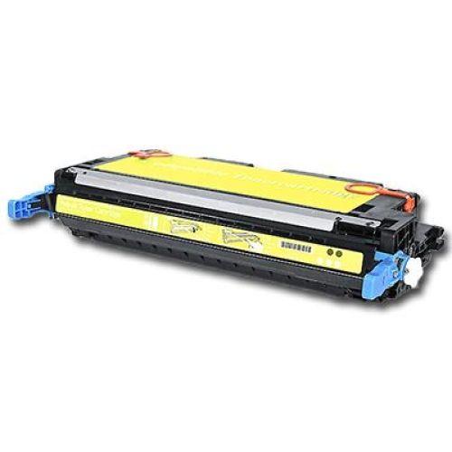 Toner HLT3600Y, Rebuild für HP-Drucker, ersetzt Q6472A