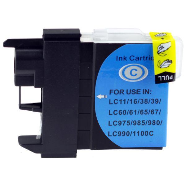 Druckerpatrone für Brother, Typ BK980/1100C, cyan
