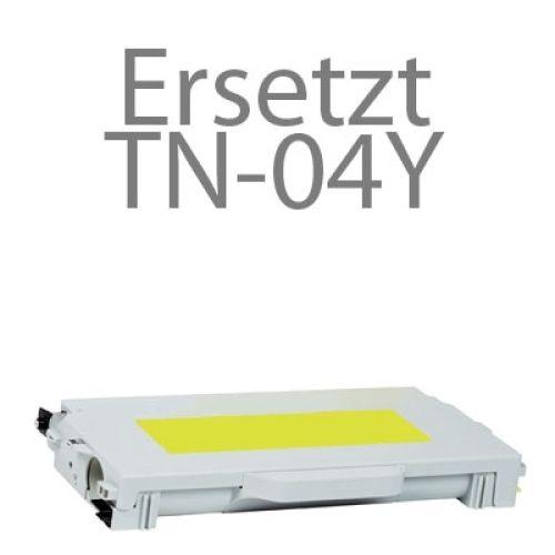 Toner BLT2700Y, Rebuild für Brother-Drucker mit TN-04 Y