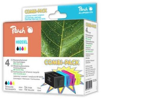 druckerpatronen peach combi pack h920xl. Black Bedroom Furniture Sets. Home Design Ideas