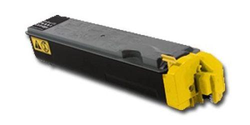 Toner KLT520Y, Rebuild für Kyocera-Drucker, ersetzt TK-520Y
