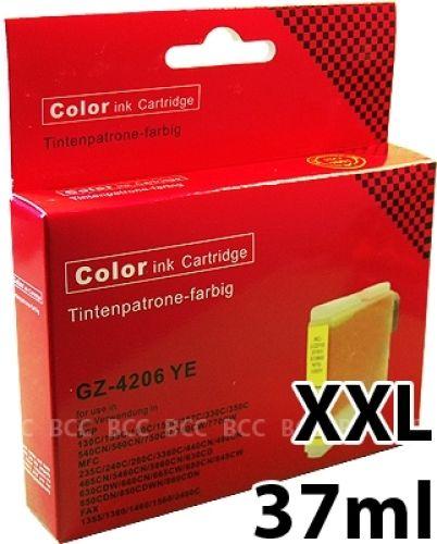 Druckerpatrone XXL Yellow für Brother, BK970/1000XLY