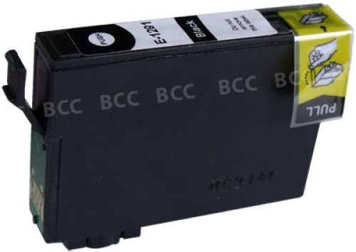 kompatible Druckerpatrone EKT1281 black (schwarz)