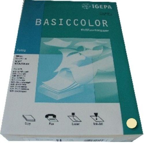 Multifunktionspapier gelb A4 160g 250 Blatt