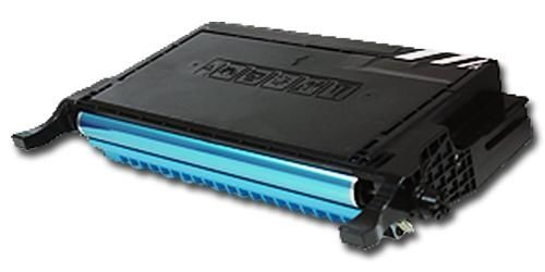 Toner XXL alternativ zu Samsung CLP-C660B / CLP-610/660 | cyan |