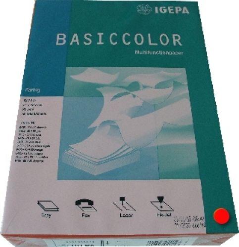 Multifunktionspapier ziegelrot A4 80g 500 Blatt