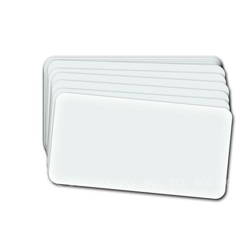 25 Visitenkarten-Laminiertaschen, Stärke 125mic