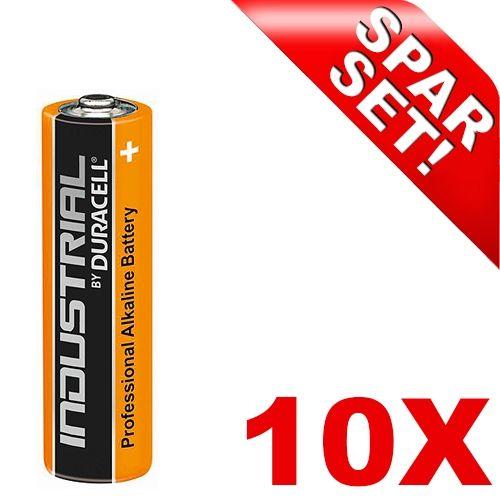 Micro-Batterien, 10 Stück, Duracell Industrial